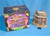 LEMAX SPOOKY TOWN COLLECTION DRY GULCH HOTEL TABLE ACCENT LIGHTED & ANIMATED
